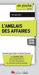 Amanda Lyle-Didier et Emilie Sarcelet - L'anglais des affaires.