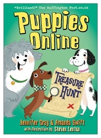 Amanda Swift et Jennifer Gray - Puppies Online: Treasure Hunt.