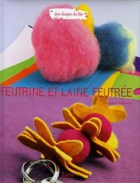 Amandine Dardenne - Feutrine et laine feutrée.