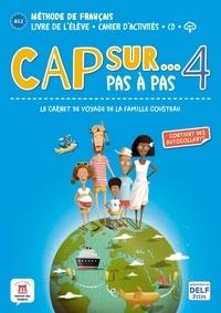 Amandine Demarteau et Fanny Piat - Cap sur... Pas à pas 4 - Méthode de français A2.1. 1 CD audio
