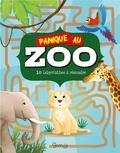 Amandine Gardie - Panique au zoo - 10 labyrinthes à résoudre.