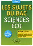 Amandine Junges et Arnaud Peugnet - Sciences éco Tle ES.