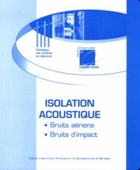 Amandine Maillet - Isolation acoustique - Bruits aériens, bruits d'impact.