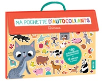Amandine Notaert - Ma pochette d'autocollants - Animaux.