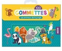 Amandine Notaert - Ma pochette de 100 gommettes - Les animaux de la jungle.