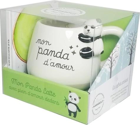 Coffret Mon Panda Latte Avec Plein Damour Dedans Matcha Latte Cie Avec Un Mug Panda