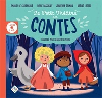 Amaury de Crayencour et Diane Dassigny - Le petit théâtre des contes. 1 CD audio