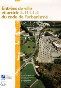Openwetlab.it Entrées de ville et article L.111-1-4 du code de l'urbanisme Image
