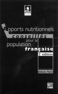 Ambroise Martin et  AFSSA - .
