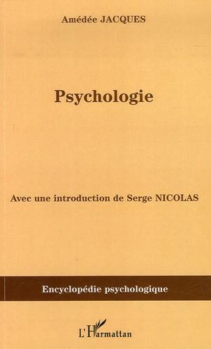 Amédée Jacques - Psychologie.