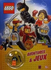 Ameet - Lego aventures et jeux - Avec une figurine à assembler.