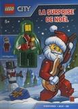 Ameet - Lego city. La surprise de Noël - Avec une figurine à assembler.