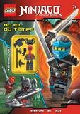 Ameet - Lego Ninjago Masters of Spinjitzu - Au fil du temps - Avec 8 pièces Lego.