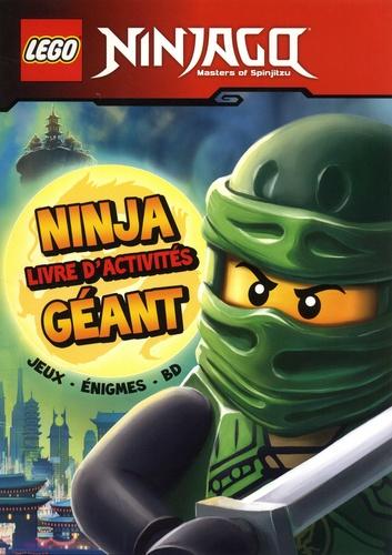 Lego Ninjago Ninja Livre D Activites Geant Grand Format