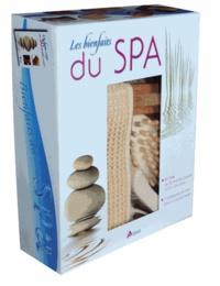 Amelia Ruiz - Les bienfaits du Spa - Coffret avec un livre et 5 accessoires de bain.