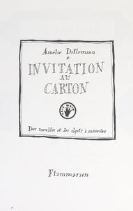 Amélie Dillemann et Frédéric Morellec - Invitation au carton - Des meubles et des objets à inventer.