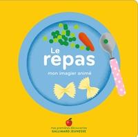 Amélie Falière - Le repas - Mon imagier animé.
