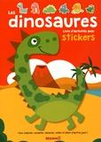 Amélie Gohy - Les dinosaures - Livre d'activités avec stickers.