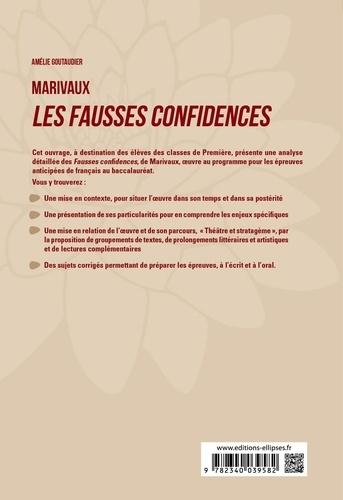 """Français 1re. Marivaux, Les fausses confidences, parcours """"Théâtre et stratagème""""  Edition 2020"""