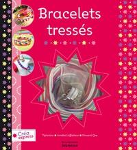 Amélie Laffaiteur et  Tipivoine - Bracelets tressés - Ce coffret contient 6 cordons en satin ; 2 anneaux, 2 fermoirs à griffes en métal ; 2 fermoirs ronds métal.