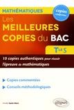 Amélie Saint-Mars - Les meilleures copies du bac Mathématiques Terminale S.