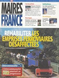 Daniel Hoeffel - Maires et Présidents de communauté de France N° 170, Mars 2004 : Réhabiliter les emprises ferroviaires désaffectées.