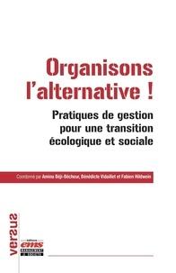 Amina Béji-bécheur et Bénédicte Vidaillet - Organisons l'alternative ! - Pratiques de gestion pour une transition écologique et sociale.