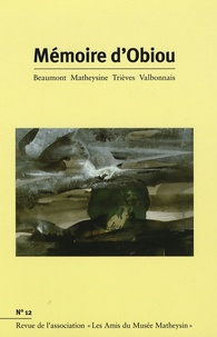 Joël Challon - Mémoire d'Obiou N° 12 : .
