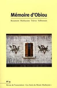 Joël Challon - Mémoire d'Obiou N° 13 : .