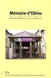 Joël Challon - Mémoire d'Obiou N° 14 : .