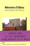 Joël Challon et M Casanova - Mémoire d'Obiou N° 17 : .