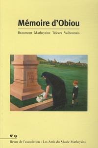 Joël Challon - Mémoire d'Obiou N° 19 : .