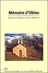 Joël Challon - Mémoire d'Obiou N° 7 : .