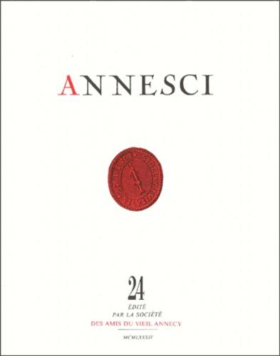 Pierre Broise - Annesci N° 24 : Le Vicus gallo-romain de Boutae - Première partie, Les fins d'Annecy.