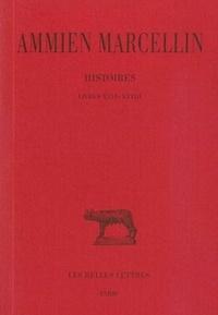 Ammien Marcellin - Histoire - Tome 5 Livres XXVI-XXVIII.