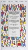Amnesty International et Christine Lesueur - Déclaration universelle des droits de l'homme - 50e anniversaire.