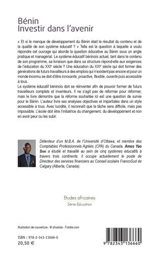 Bénin, investir dans l'avenir. L'impératif d'une éducation innovante