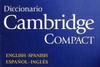 Amparo Cantalejo et Richard Cook - Diccionario Cambridge Compact.