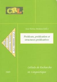 Amr Amr Helmy Ibrahim - Prédicats, prédication et structures prédicatives.