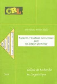 Amr Helmy - Supports et prédicats non verbaux dans les langues du monde.