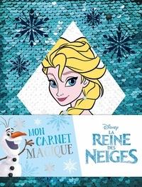 Amstramgram - Mon carnet magique Disney La Reine des Neiges.