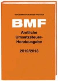 Amtliche Umsatzsteuer-Handausgabe 2012/2013.