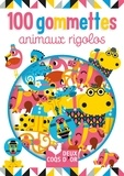 Amy Blay - 100 gommettes animaux rigolos.