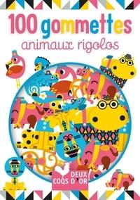 Amy Blay - 100 gommettes animaux rigolos.