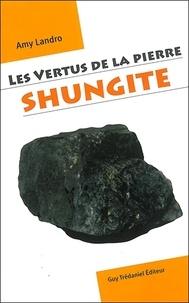 Amy Landro - Les vertus de la pierre shungite.