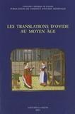 An Faems et Virginie Minet-Mahy - Les translations d'Ovide au Moyen Age.