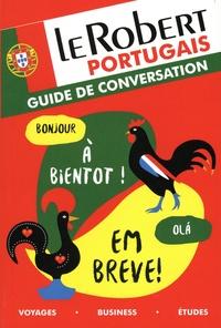 Histoiresdenlire.be Le Robert portugais - Guide de conversation Image
