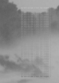 Ana Hors cadre - Qu'est-ce que c'est les nuages ?.