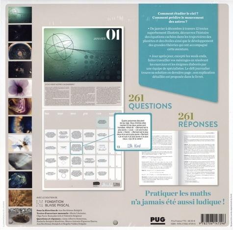 Calendrier Mathématique 2021 Calendrier Mathématique   Le ciel dans tous ses de Ana Rechtman