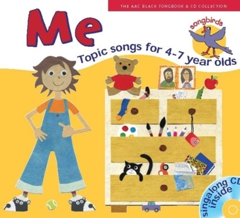 Ana Sanderson et Marie Tomlinson - Me - Topic songs for 4-7 Year Olds. 1 CD audio